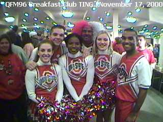 OSU Cheerleaders and Friends