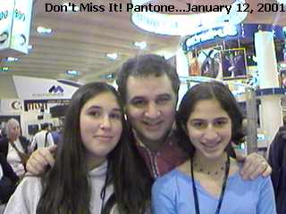 Pantone, Mac World Tradeshow, Las Vegas